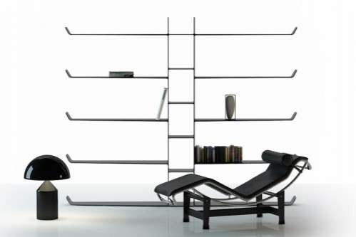 Lightweight Contemporary Shelving