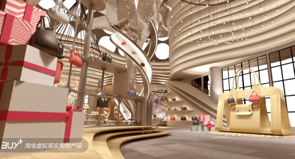 Virtual Reality Shopping Centers