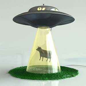 Alien Abduction Lamps