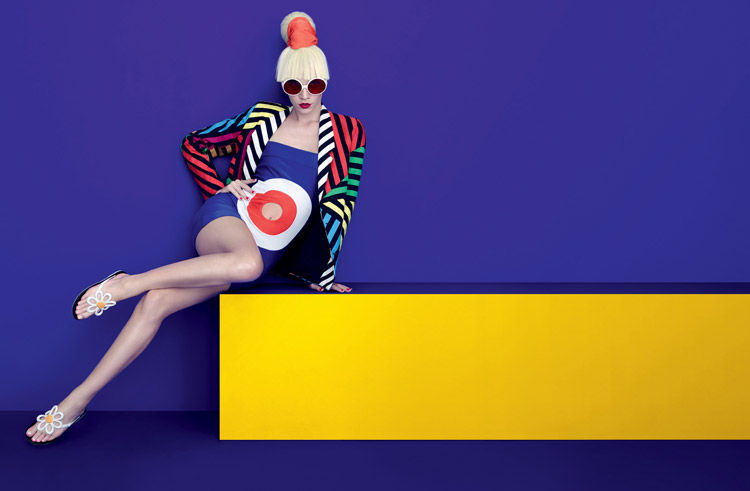 Eccentric Pop Art Editorials