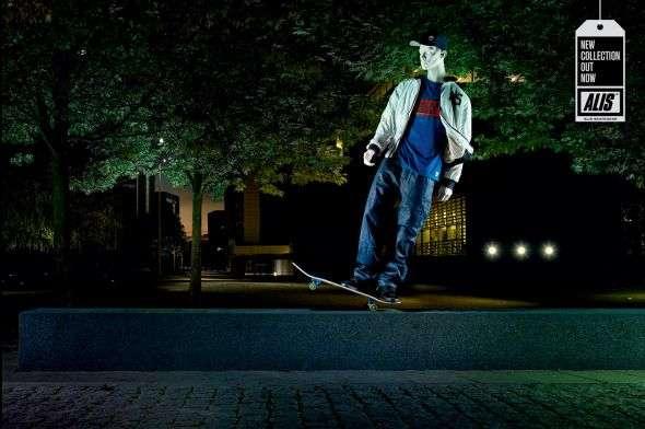 Sick Skating Statues