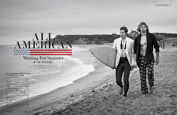 Preppy Surfer Editorials