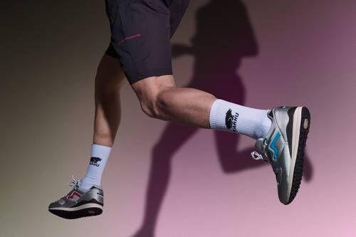 Decathlon-Themed Running Shoes