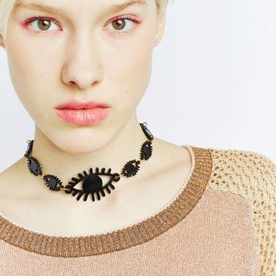 Ocular Choker Necklaces