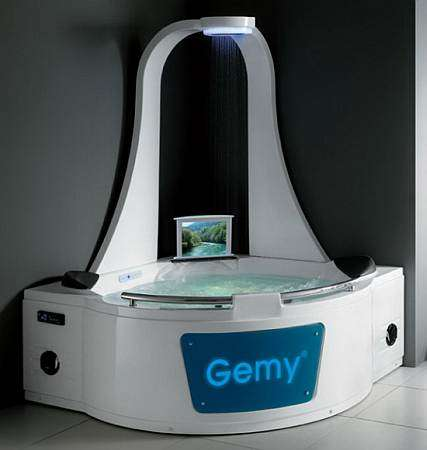 Multipurpose Home Spas : Gemys All-In-One Massage Shower and Bath Tub