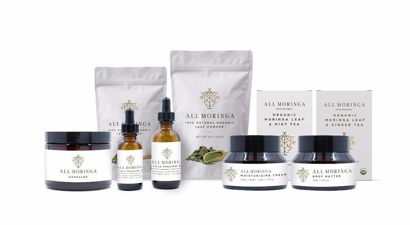Rejuvenating Moringa Cosmetics
