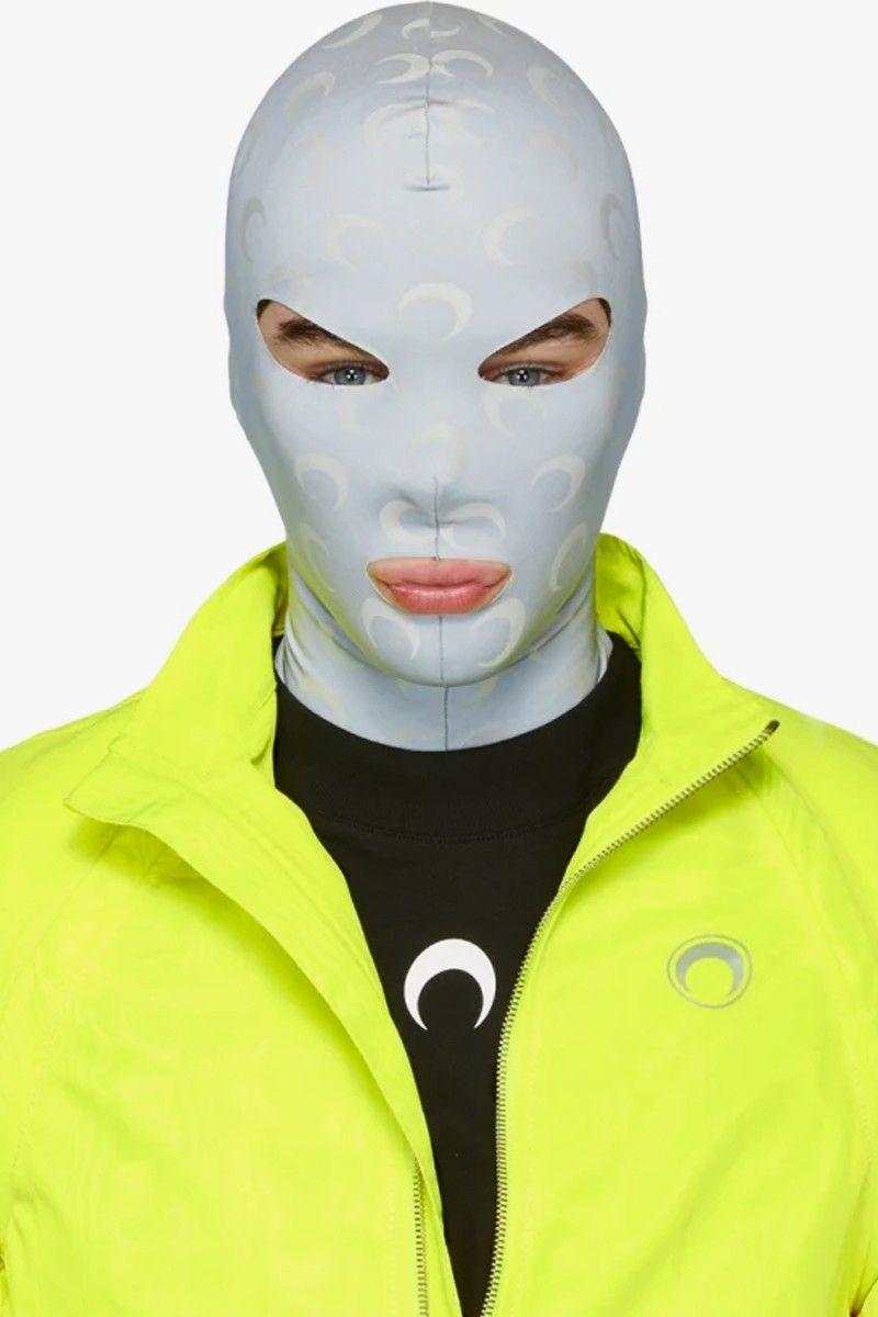 Reflective Moon-Printed Masks