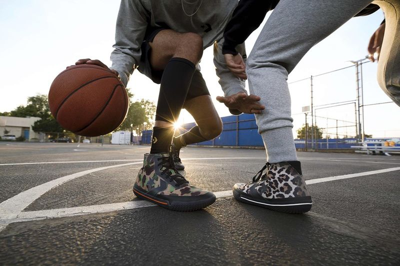 Slick Performance-Ready Basketball Sneakers