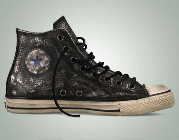 Reptilian High-Tops