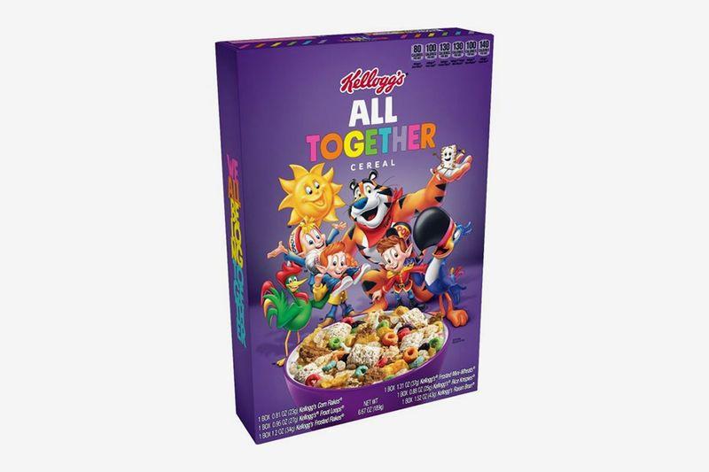 All-Inclusive Nostalgic Cereals