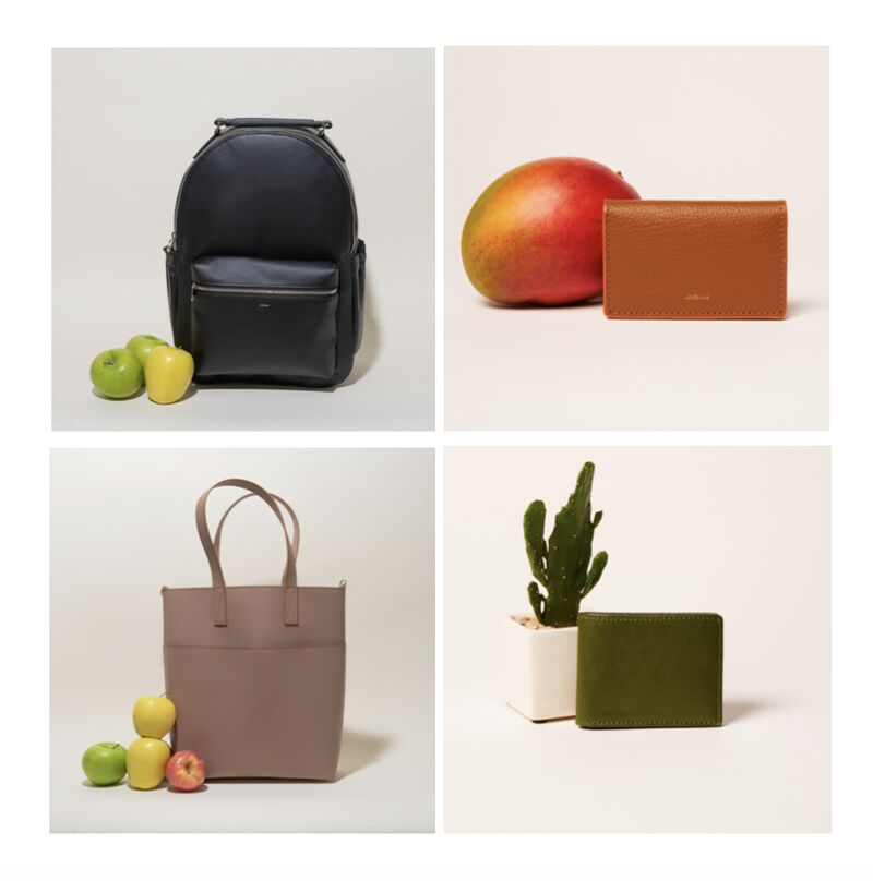 Sustainable Fruit-Made Hand Bags