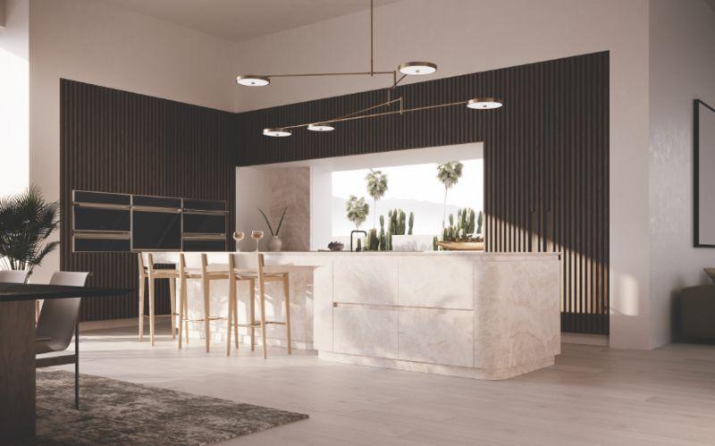 Interactive All-Glass Kitchen Installations
