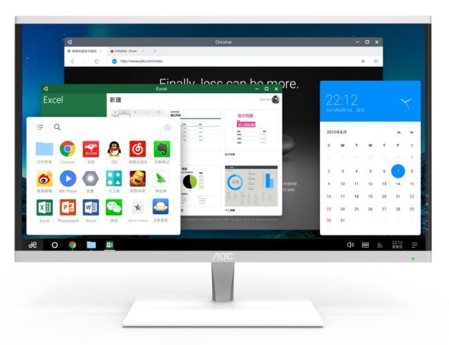 Mobile OS Desktops