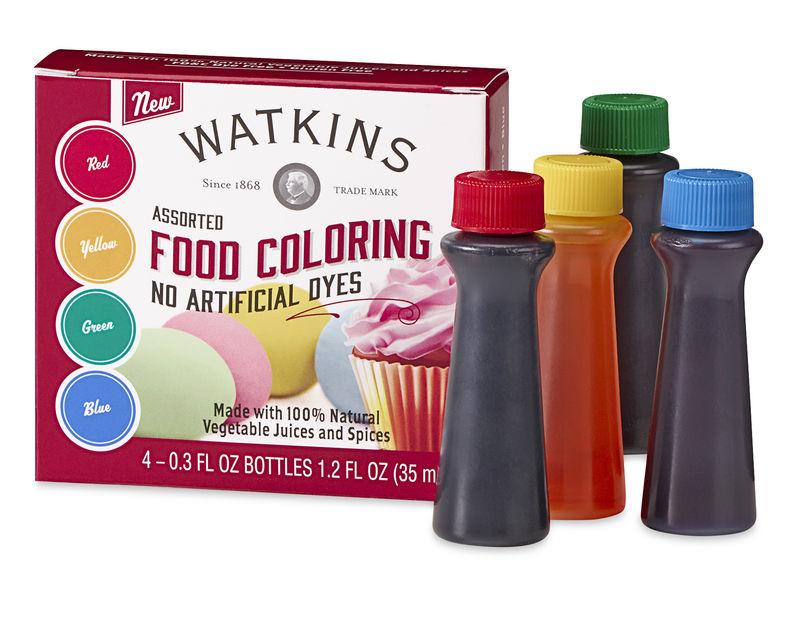 All-Natural Food Coloring Kits : all-natural food coloring
