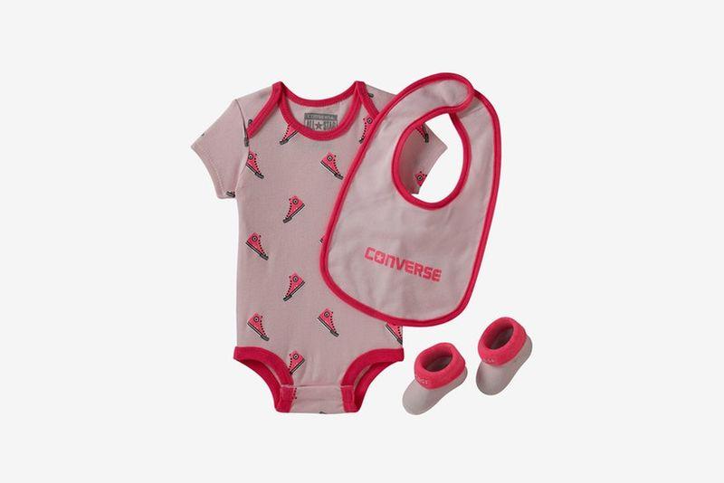 Sporty Three-Piece Baby Sets