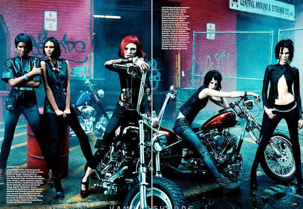 Gritty Urban Chick Editorials