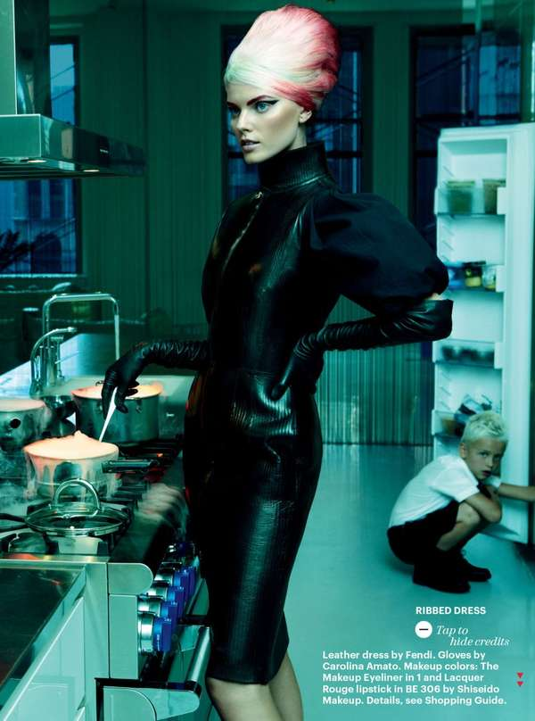 Edgy Homemaker Editorials