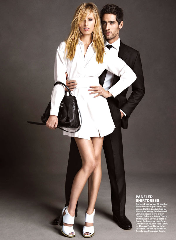 Romantic Matching Outfit Editorials