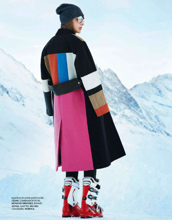 Skiing Couture Editorials