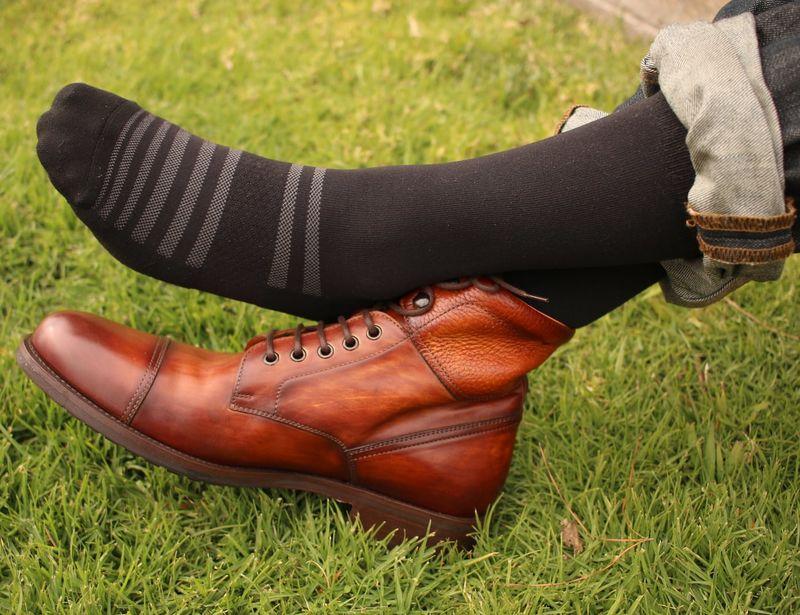 Gym-Ready Dress Socks