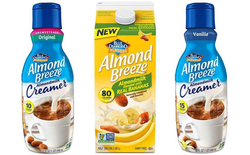 Alternative Almond Milk Products
