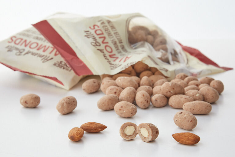 Almond Butter-Covered Almonds