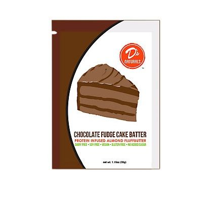 Cake-Inspired Protein Packets