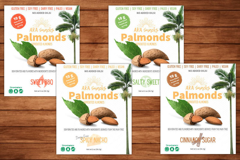 Sprouted Almond Snacks