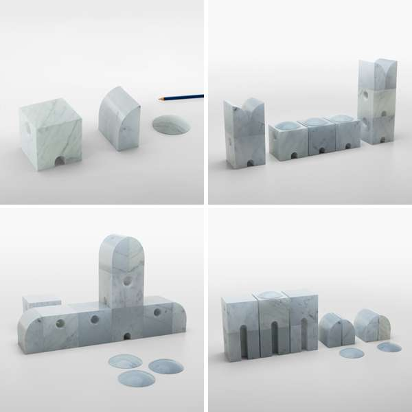 Marble Toy Blocks