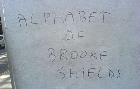Alphabet of Brooke Shields