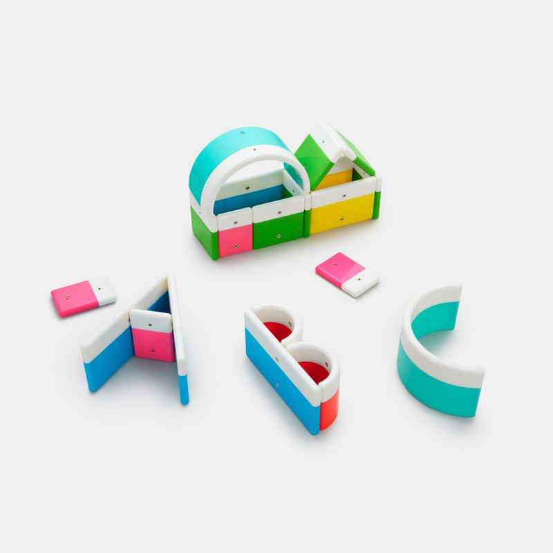 Letter-Shaped Toy Blocks