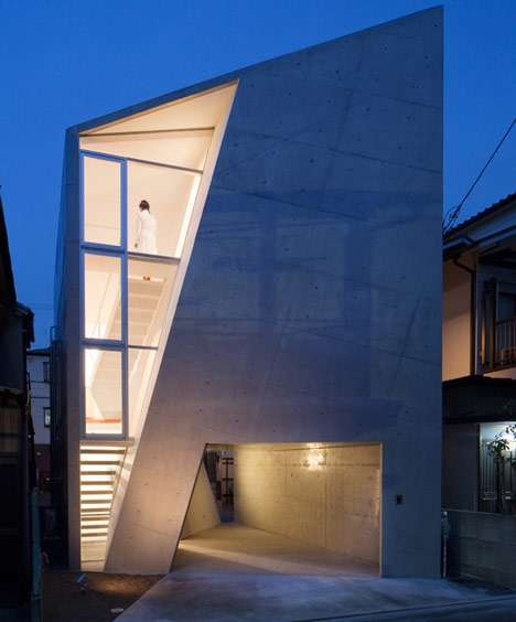 Alarmingly Angled Abodes