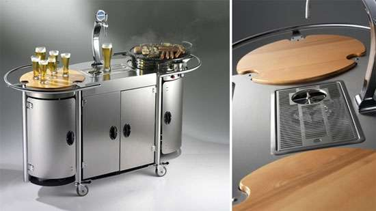Lovely Portable Party Carts