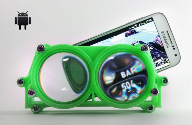 Printed VR Goggles