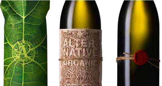 Earthy Alcohol Branding
