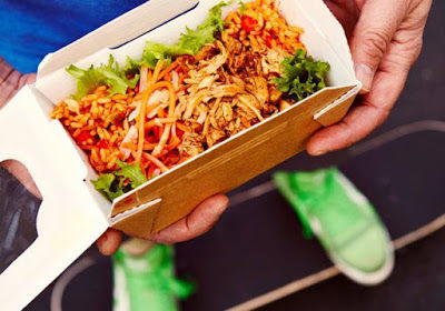 Fast Food Rice Boxes