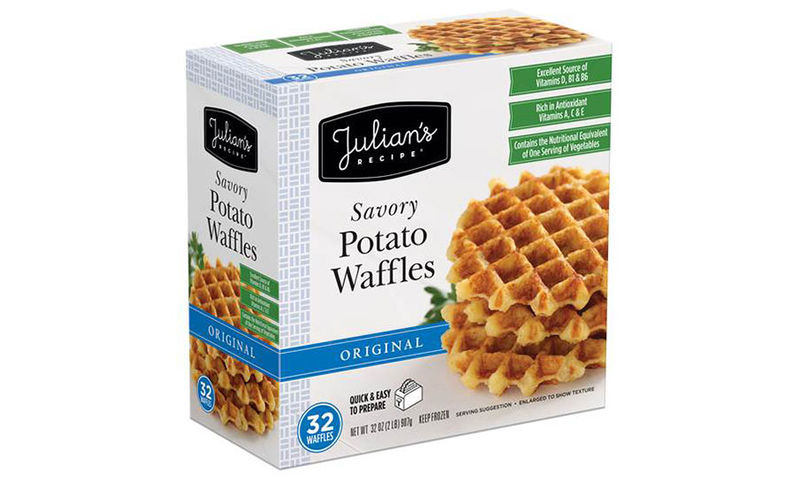 Savory Potato-Based Waffles