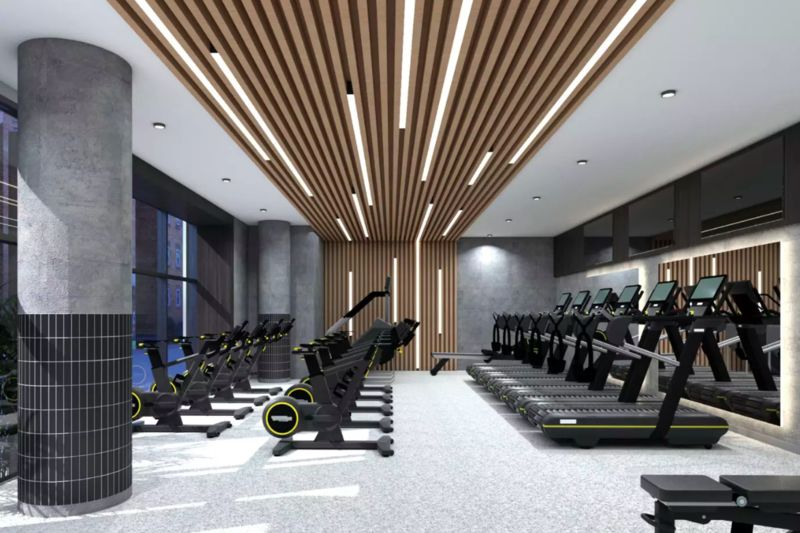 High-Altitude Gyms