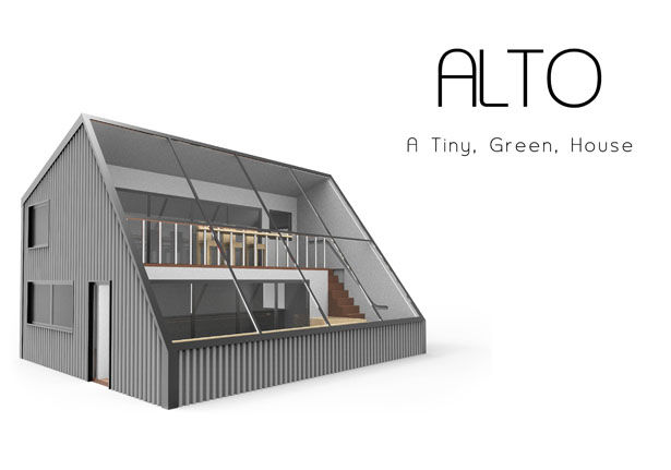 Greenhouse-Integrated Tiny Homes