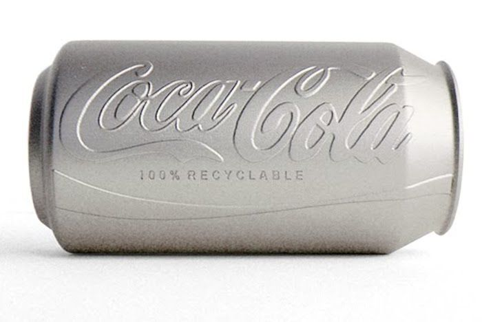 Embossed Soda Cans