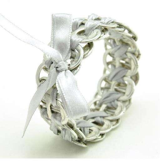 Dainty Upcycled Aluminum Jewelry