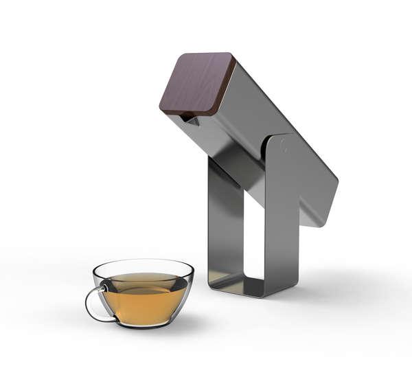 Minimalist Utilitarian Teapots