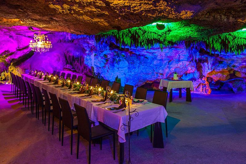 Cavernous Underground Bars