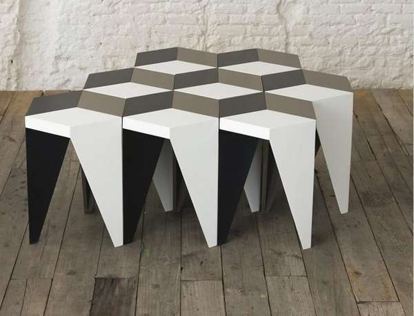 Modular Rhombus Tables