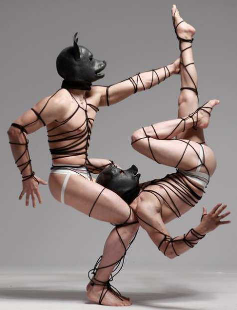 Bound Contortionist Photography