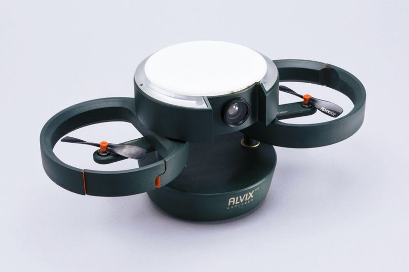 Emergency Double-Rotor Drones