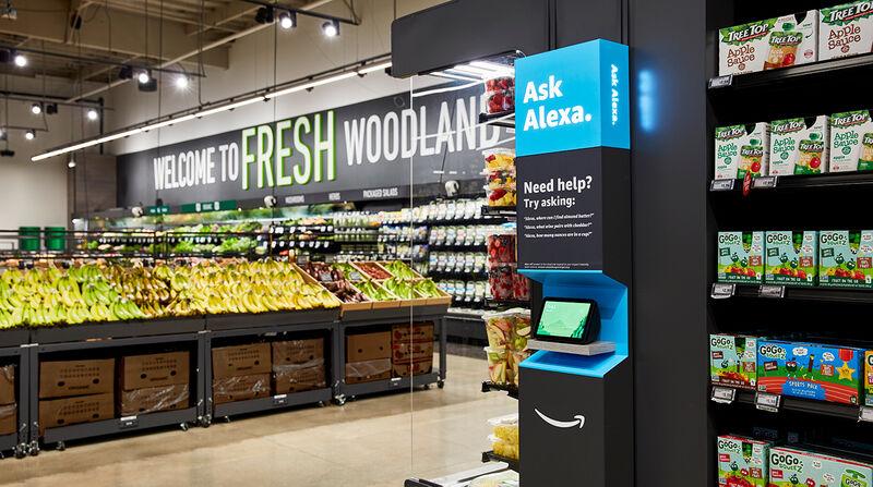 Smart Grocery Shops