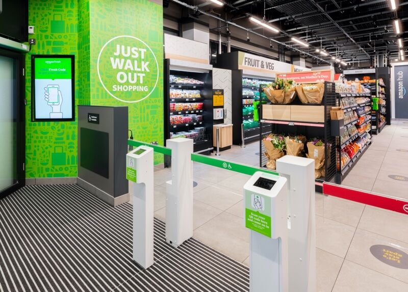 Till-Free Grocery Stores