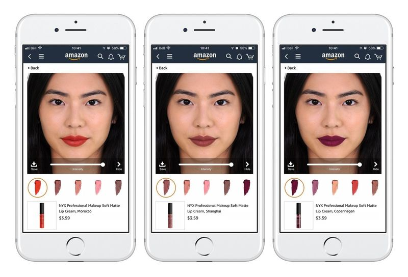 Augmented Reality Cosmetic Apps