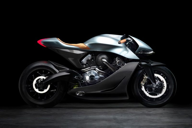 Chic Supercar-Inspired Motorcycles